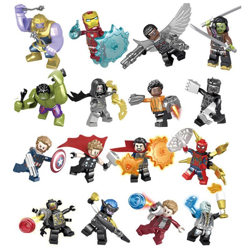 Figura Tipo Lego Varios Personajes SY Heores Assemble Avengers Infinity War Marvel Avengers Infinity War Variados en Caja (Unidad)