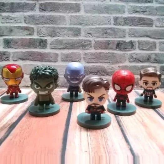 "Figura Avengers PT Avengers Marvel 3"" (Unidad)"