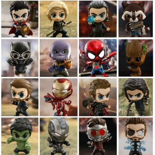 "Figura Avengers Hot Toys Avengers Infinity War Marvel 2"" (Unidad) (Copia)"