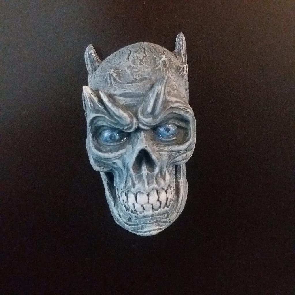 Imán Rey de la Noche Rotten Kidney Skull Magnet Juego de Tronos Series