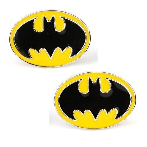 Mancornas Batman EB Batman DC Comics Logo Clásico Fondo Amarillo