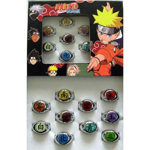 Anillo Naruto PT Naruto Anime Diseños Varios