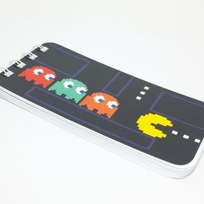 Libreta Pac Man Poof Arts Pacman Videojuegos