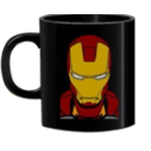 Mug Tallado Iron Man TooGEEK Marvel Casco
