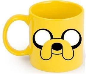 Mug Tallado Jake TooGEEK Hora de Aventura Animados Amarillo