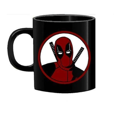 Mug Tallado Deadpool TooGEEK Marvel Fondo Blanco