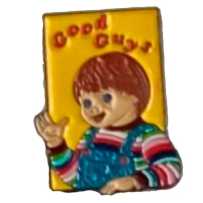 Pin Metálico Good Guy Caja TooGEEK Child´s Play Terror (Color)