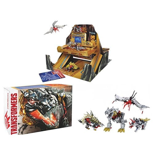 Set Hasbro Transformers  Anime Base de Operaciones Dinobots