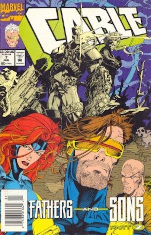 Revistilla Cable Marvel (Varios Números)
