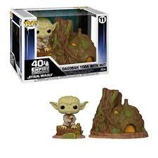 Figura Yoda Funko POP El Imperio Contraataca Star Wars Cabaña