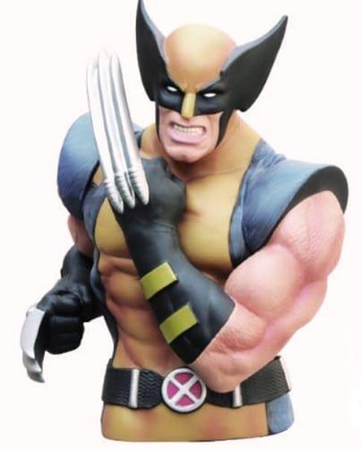 Alcancía Wolverine Monogram X-men Marvel