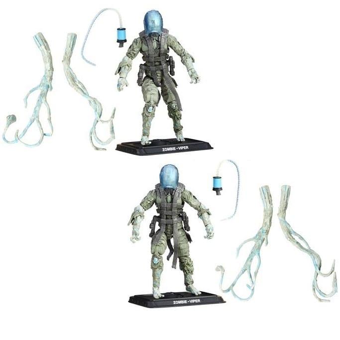 "Figura Viper Zombie Hasbro GI-JOE Ciencia Ficción 50th Anniversary 3.5"""
