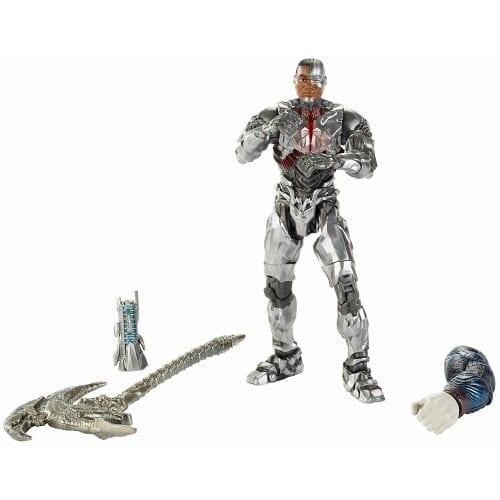Figura Articulada Cyborg  DC Colecctibles Multiverse Liga de la Justicia DC Comics 6''