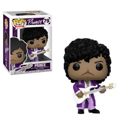Figura Prince Funko POP Músicos Purple Rain