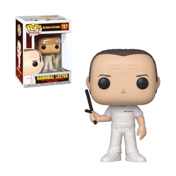 Figura Hannibal Lecter Funko POP The Silence of The Lamps Terror