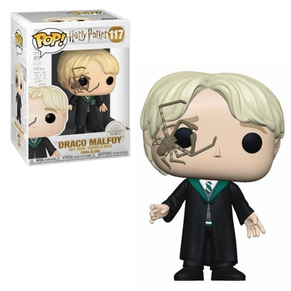 Figura Malfoy con Araña Funko POP Harry Potter Fantasia