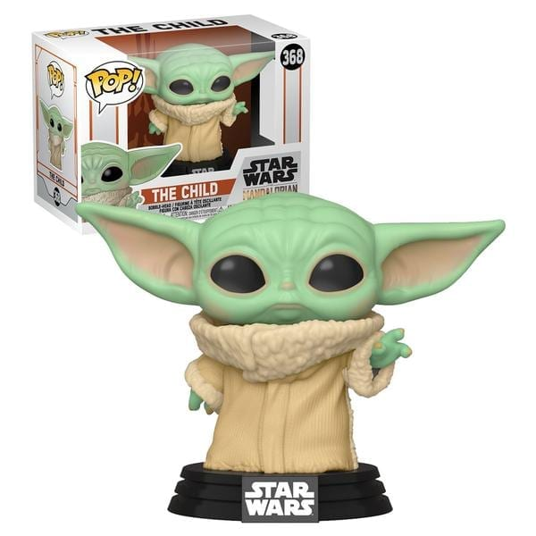 Figura Baby Yoda Funko POP The Mandalorian Star Wars The Child