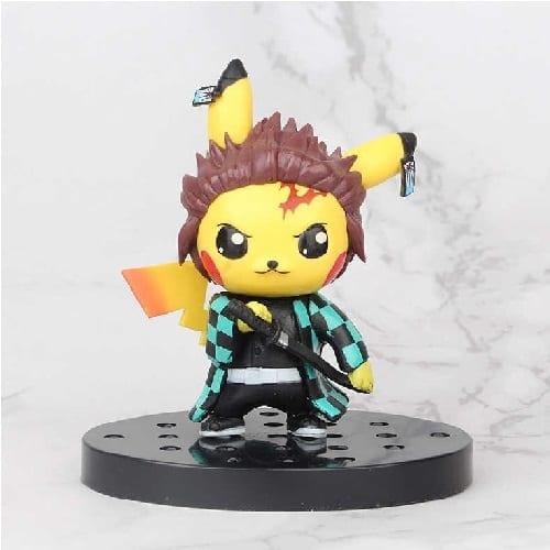 """Figura Pikachu Banpresto Pokémon / Kimetsu no Yaiba Anime Disfraz Tanjiro Kamado 4"""" (copia)"""