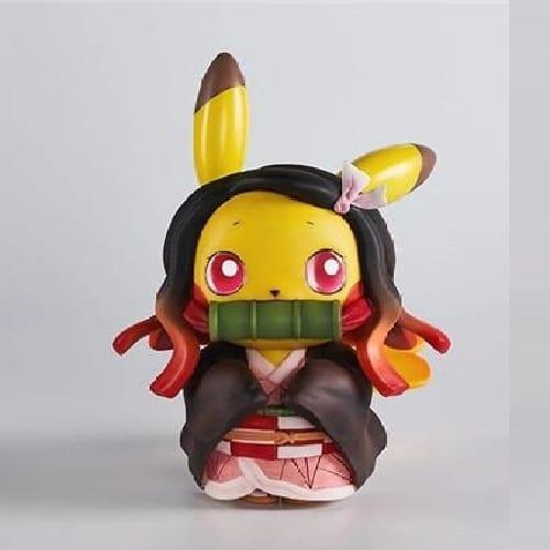 "Figura Pikachu Banpresto Pokémon / Kimetsu no Yaiba Anime Disfraz Nezuko Kamado 4"" (copia)"