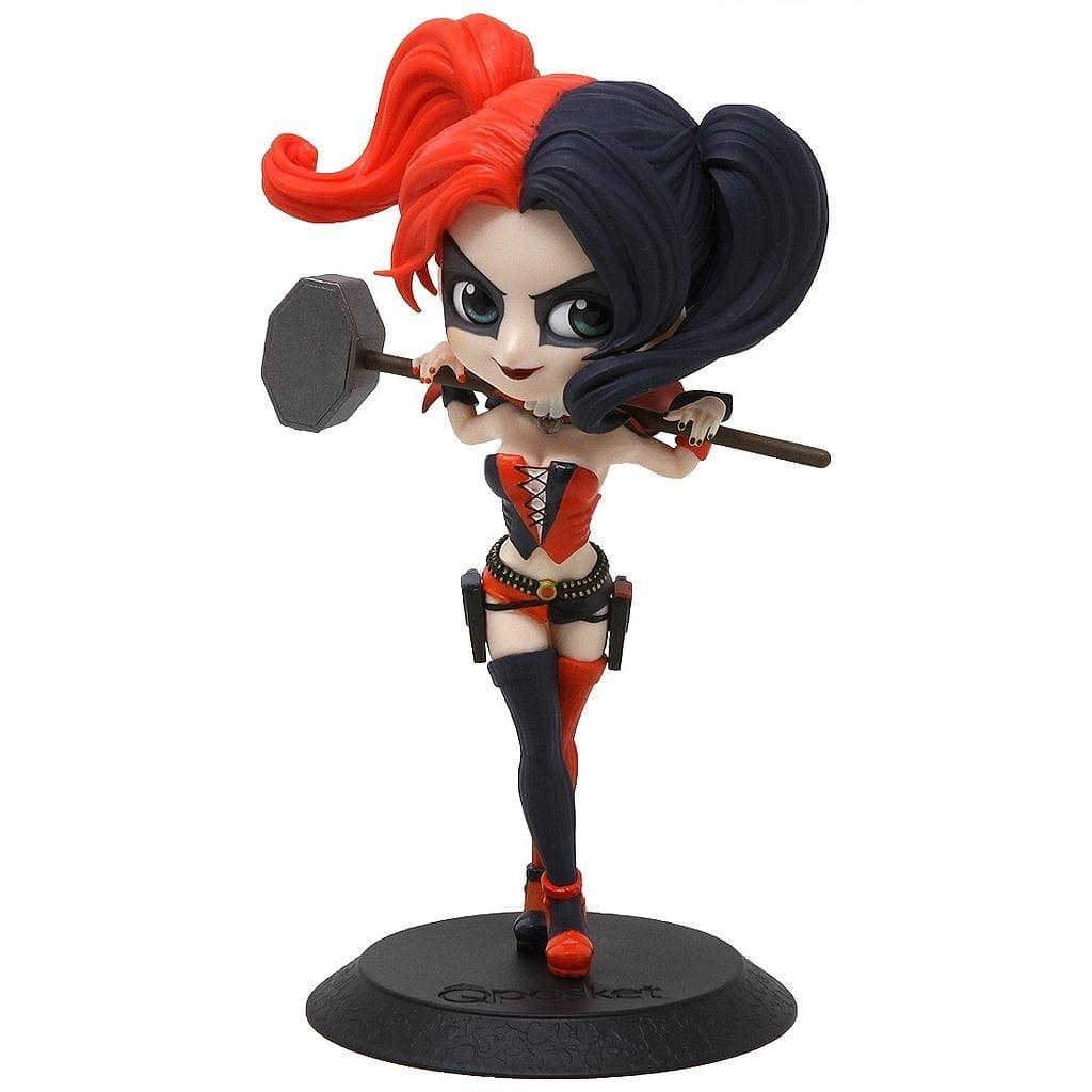 """Figura Harley Quinn Q Posket New 52 DC Comics Version Nuevos 52 4"""" (copia)"""