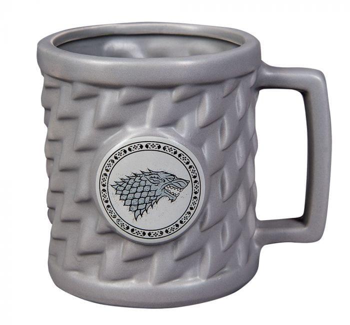 Mug Casa Stark Pyramid Game of Thrones Series Relieve