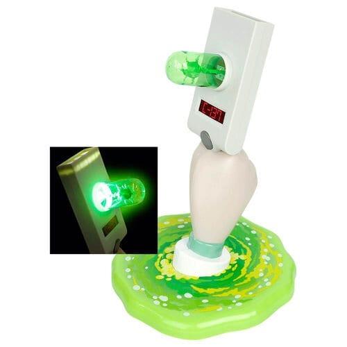 Lámpara Pistola de Portal Paladone Rick and Morty Animados