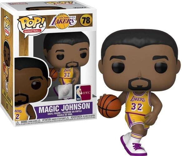 Figura Magic Johnson Funko POP NBA Iconos
