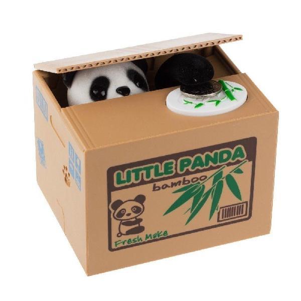 Alcancía Panda Mischief Saving Box  Iconos Ladron de Monedas