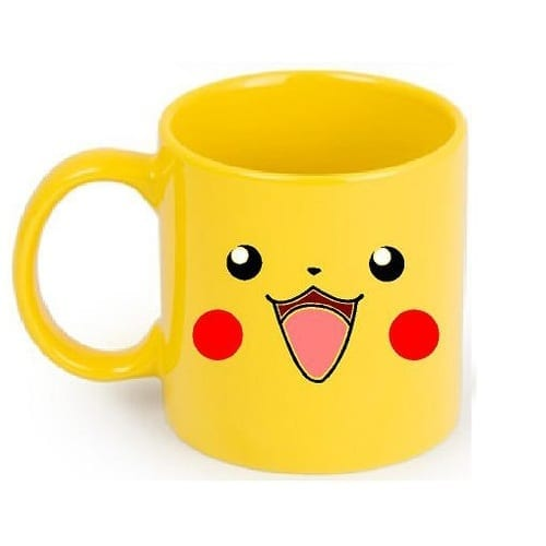 Mug Tallado Pikachu TooGEEK Pokémon Anime Amarillo