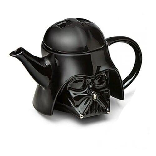 Tetera Darth Varder PT Star Wars Cerámica 3D 1L