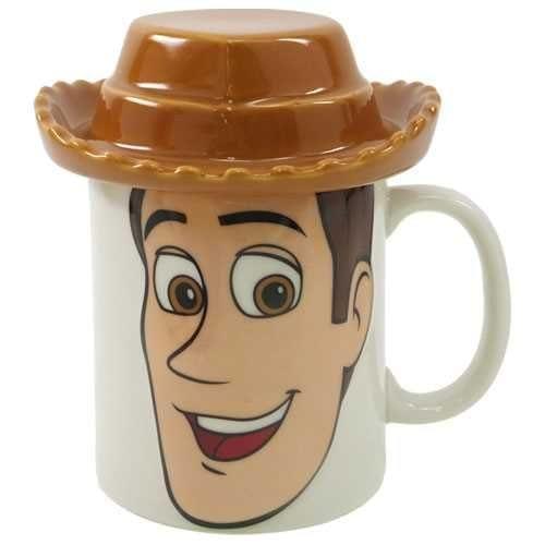 Mug Woody PT Toy Story Disney Cerámica 3D