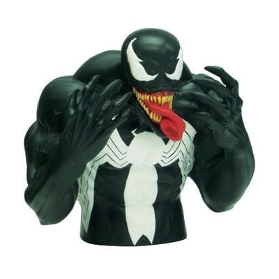 Busto Alcancía Venom Monogram Spiderman Marvel