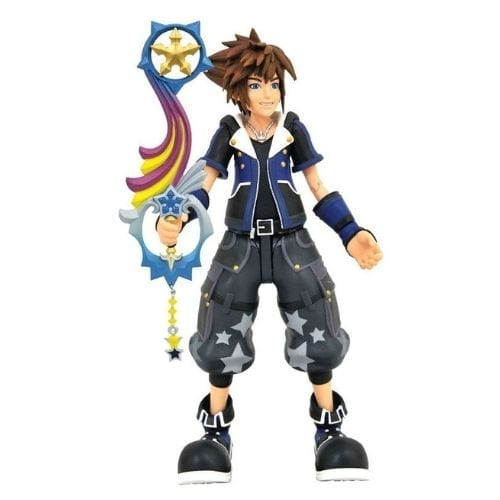 Figura Articulada Sora Diamond Select Kingdom Hearts Videojuegos