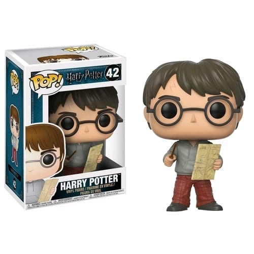 Figura Harry Potter Funko POP Harry Potter Fantasía con Mapa