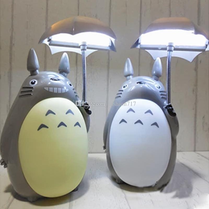 """Lámpara Totoro PT My Neigbor Totoro Anime USB con Sombrilla 5"""" (Copia)"""