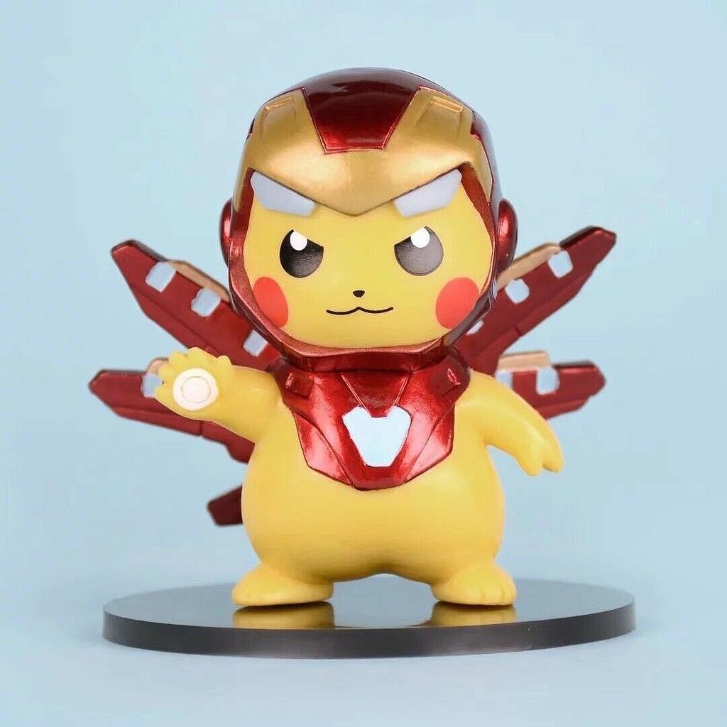 """Figura Pikacu Funko POP Pokémon Anime Disfrazado de Capitán América 4"""""""