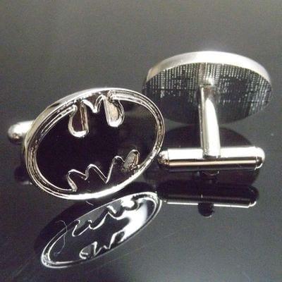 Mancornas Batman EB Batman DC Comics Logo Clásico Fondo Plateado