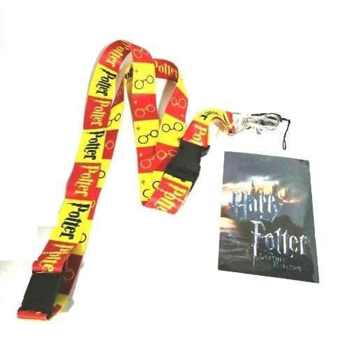 Lanyard Harry Potter Bioworld Fantasía Colores Gryffindor (copia)