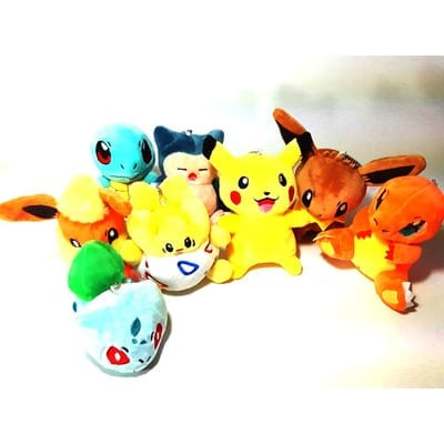 "Peluche Pokémon Varios PT Pokémon Anime 4"" (Unidad)"