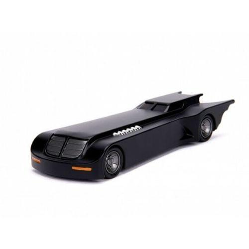 Vehiculo Batimovil Jada Metal Die Cast Batman DC Comics Serie Animada 1/24