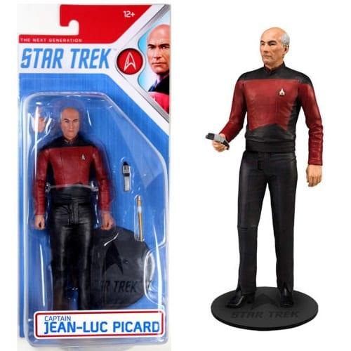 Figura Jean-Luc Picard Mcfarlane Toys Star Trek Ciencia Ficción