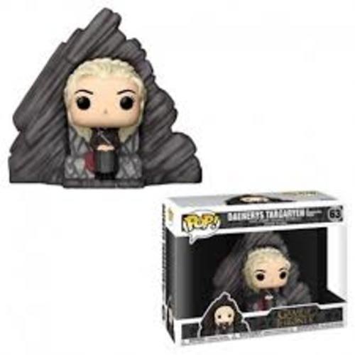 Figura Daenerys Funko POP Juego de Tronos Series Trono de Dragonstone