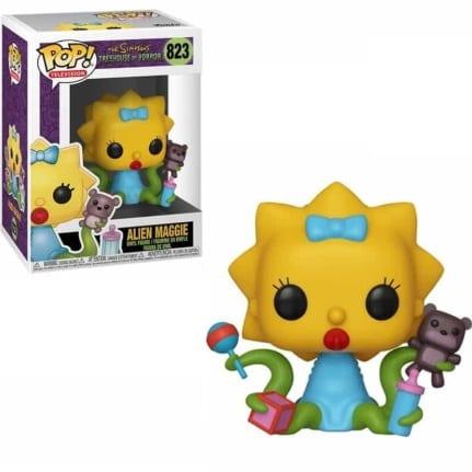 Figura Maggie Simpsosn Funko POP Los Simpson Casita del Horror Animados Magie Alienigena