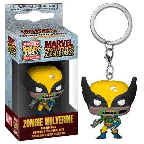 Llavero Wolverine Funko POP Marvel Zombie