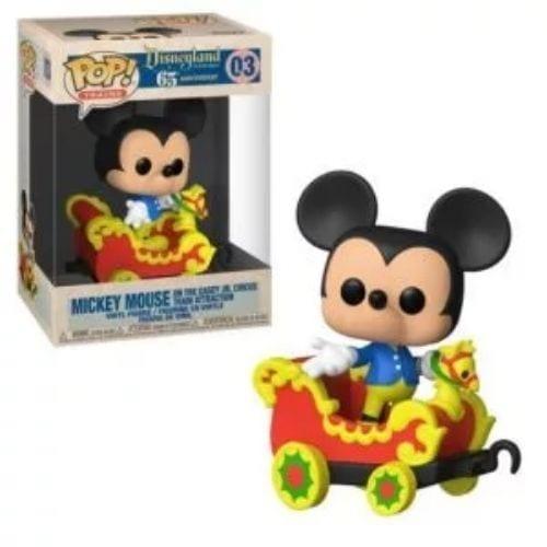 Figura Mickey Mouse Funko POP Disneyland 65th Anniversary en el Vagòn de Tren