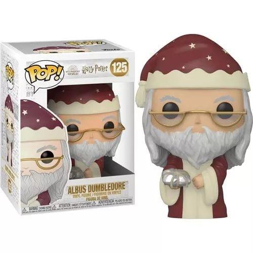 Figura Dumbledore Funko POP Harry Potter Fantasía Navideño