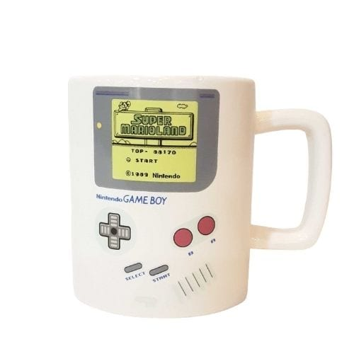 Mug Game Boy PT Nintendo Videojuegos Con Porta Galleta