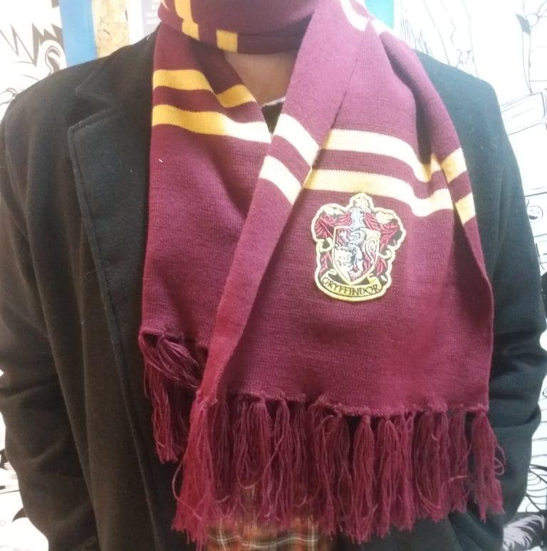 Bufanda Casa Gryffindor JAN Harry Potter Fantasía