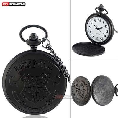 Reloj de Bolsillo Logo Hogwarts PT Harry Potter Fantasía