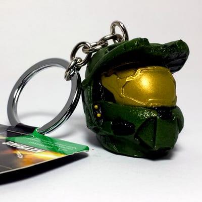 LLavero Master Chief PT Halo Videojuegos Cabeza